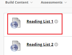 Curriculum Builder Reading list
