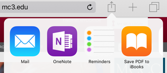 Add Web Pages to a OneNote Notebook on an iPad