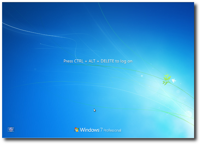 This is an image of the CTRL ALT DELETE Windows screen