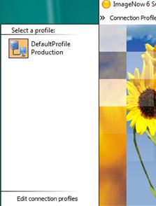 Perceptive <b>Content</b> (Image Now) <b>Login</b> Profile Setup