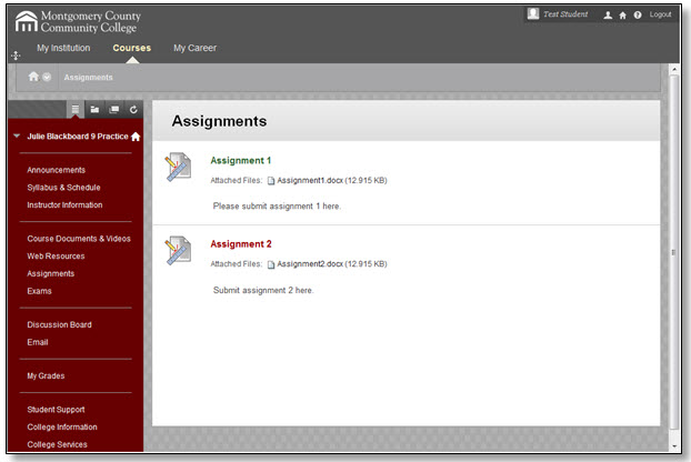 how to submit assignment on blackboard