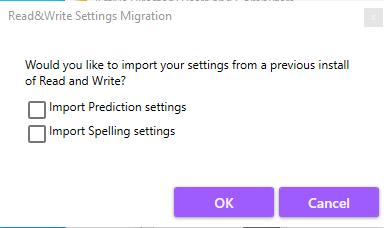 Import Options